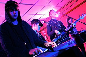 The xx play live at La Casa 139, Milan, Italy ...