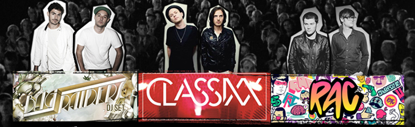 Bag Raiders Classix RAC promo image from The Mezzanine