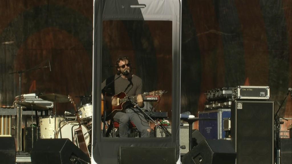 J Tillman inside an iPhone (Golden Gate Park)