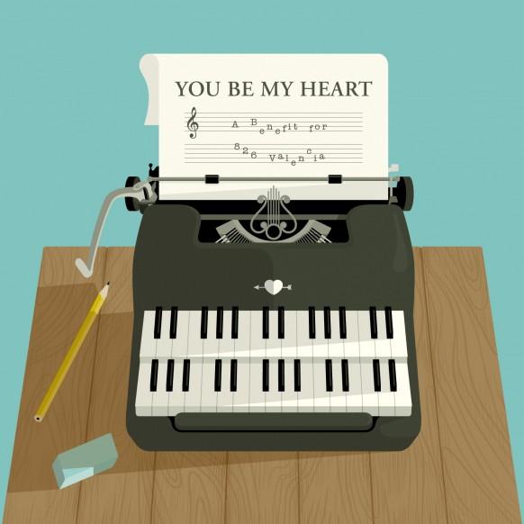 826 valencia benefit album conver you be my heart