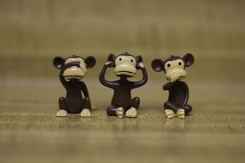 see no evil, speak no evil, hear no evil monkeys