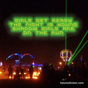 Husky Rescue - Shadow Run (Arveen and Misk remix) and photos of the art cars at parties