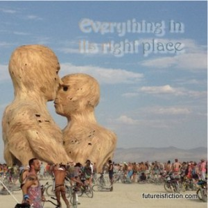 Radiohead - Everything in Its Right Place (Refracture remix) and photos of Embrace