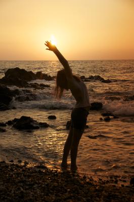 Transformational yoga instructor Christine Wushke