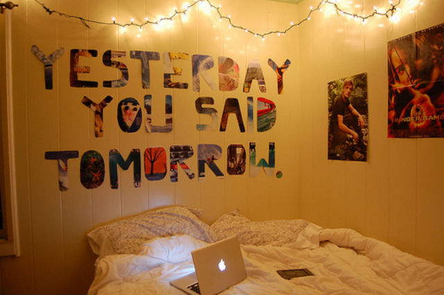 Yesterday You Said Tomorrow room
