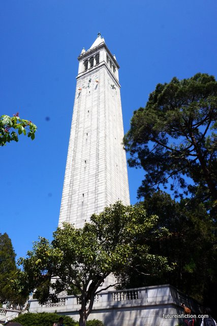 Campanile (Sather Tower) on its centennial