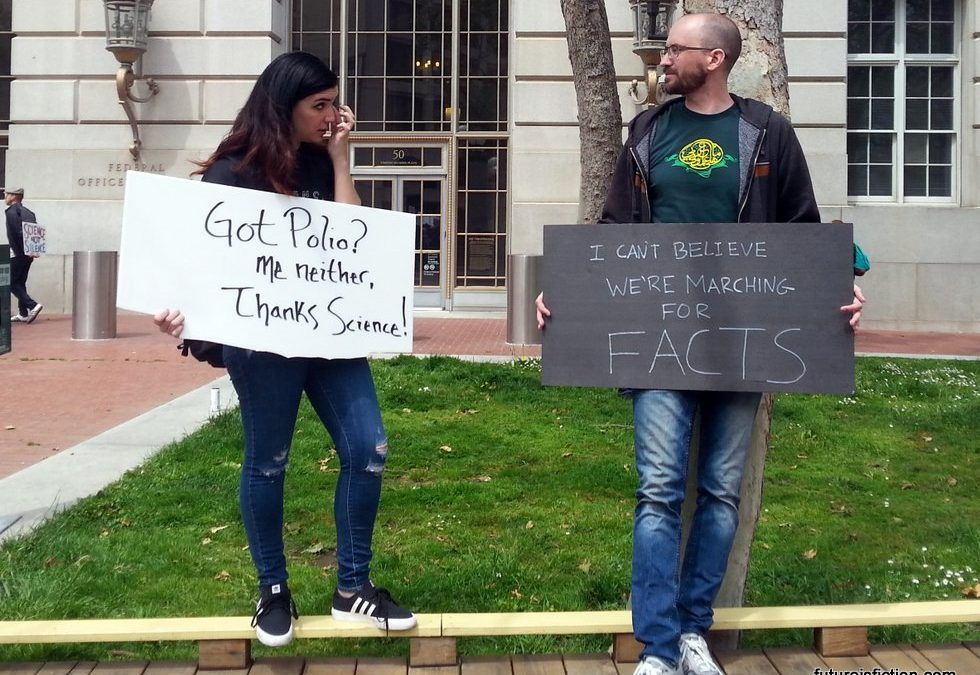 The 35 Best Protest Signs from the San Francisco Science March
